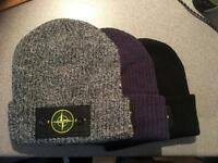 Free delivery, Stone Men's beanie hats not river island.