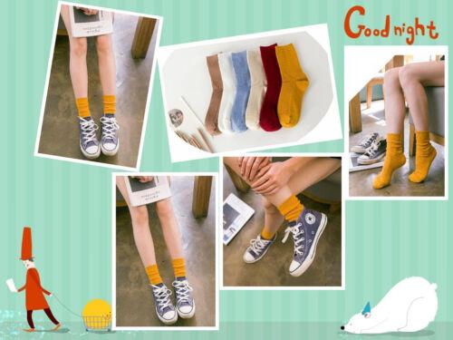 Women Tide Socks Casual Cotton High Sports Socks Design Dress Socks Free Size