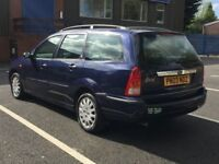 2003 FORD FOCUS GHIA ESTATE * 2.0 PETROL * 1 OWNER FROM NEW * MOT * PART EX WELCOME * DELIVERY *