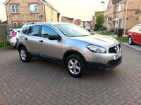2011 NISSAN QASHQAI + 2 1.6, 7 SEATER, 1 OWNER FROM NEW, 56000 MILES, FULL 12 MONTHS MOT, HPI CLR