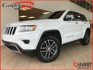 Jeep Grand Cherokee limited 4x4  toit ouvrant cuir 2016