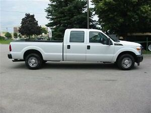 2015 Ford F-250 crewcab 2wd gas long box X 4