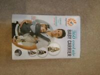 BRAND NEW ERGO BABY 360 COOL AIR BABY CARRIER