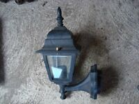 Outdoor lamp for house or garden. Fixes on wall. Never used.