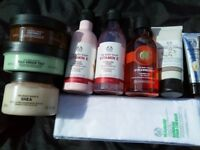 Brand New, Unused Body Shop Face and Bodycare Bundle