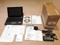 Boxed as new Medio Akoya E1317T 10.1 touchscreen laptop, 1366 x 768 display, 500GB hard drive, USB3