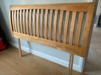 Kingsize headboard - solid wood