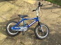 Child's bike 14 inch frame