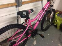 "Girls 24"" apollo bike"