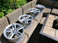 4 X Genuine Audi A5-A7 Alloy Wheels. Great price!!!