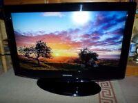 32 inchSamsung HD Digital Freeview LCD TV