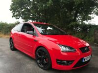 FORD FOCUS ST-2 RED 295BHP