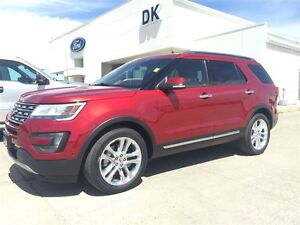 2016 Ford Explorer Limited Demo Unit, Moonroof, Tow Package