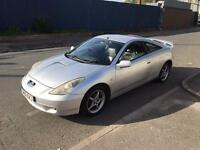"""""TOYOTA,CELICA,VVTI,1.8cc,COUPE,6 SPEED MANUAL,2002,141BHP,SILVER"""""