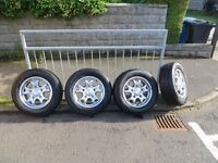 Van alloy wheels with tyres
