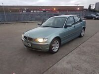 FOR SALE 2002 DIESEL MANUAL BMW 320 ONLY £799