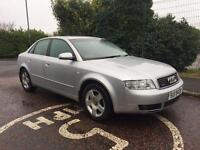 MARCH 2004 AUDI A4 QUATTRO 1.9 TDI 6 SPEED FULL SERVICE HISTORY TWO OWNERS LONG MOT