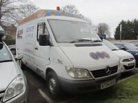 2004 Mercedes Sprinter 311 CDI MWB Semi High Roof - 3.5T - 1 Years MOT - NO VAT