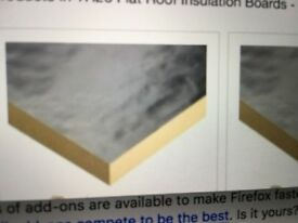 100mm Kingspan insulation needed - up to 150m2