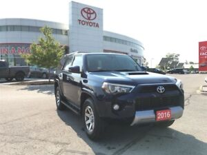 2016 Toyota 4Runner Trail Edition - Rare Local Vehicle, Low Kms!
