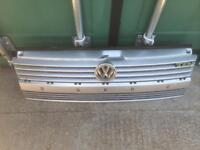 VW T4 TRANSPORTER FRONT GRILL WITH BADGES