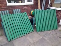 Wooden Double Garden Gates - Ideal for Car or Vehicle access