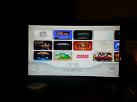 Nintendo wii with 40+ virtual console games