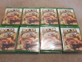 BULK SALE - 60x BAJA: EDGE OF CONTROL HD - XBOX ONE (Brand New, Sealed) - Job Lot (only £7.50 each)
