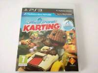 Ps3 Game Little big planet karting in excellent condition with manual