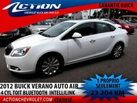 2012 BUICK VERANO AUTO AIR TOIT 4 CYL BLUETOOTH