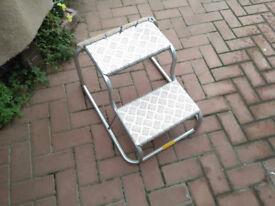 aluminioum caravan steps good condition