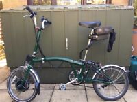 Brompton with Sparticle electric Assist.