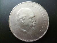1965 SIR WINSTON CHURCHILL. 2 coins