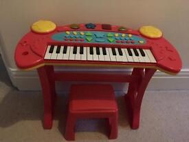 Carousel Keyboard & Stool