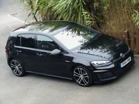VW VOLKSWAGEN GOLF 2.0 GTD DSG AUTO 180bhp - FULL HEATED LEATHER - ONE OWNER - PERFECT VW HISTORY..!
