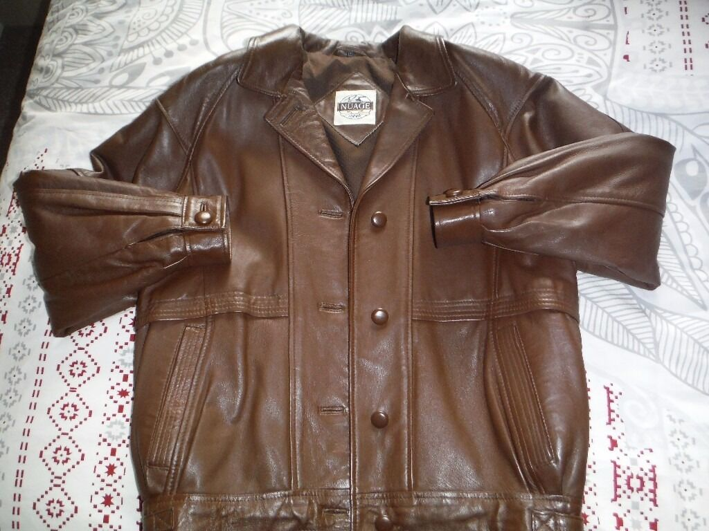 Ladies Brown Leather Jacket (Size 10in Pudsey, West YorkshireGumtree - Ladies Brown Leather Jacket (Size 10) Ladies brown soft leather jacket, fully lined, hardly worn. Excellent condition, smoke free home