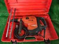 Hilti TE 80 ATC AVR 110v. Concrete Breaker / Hammer Drill Plus Chisels