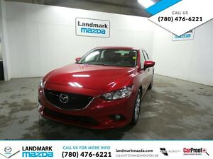 2014 Mazda Mazda6 GS-LUXURY SEDAN / LEATHER / MOONROOF