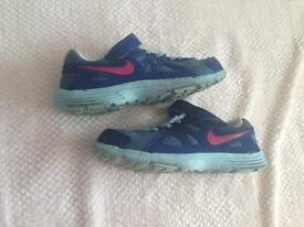 Size 1 Nike trainers