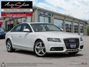2010 Audi A4 Quattro AWD ONLY 137K! **BANG & OLUFSEN SOUND**...