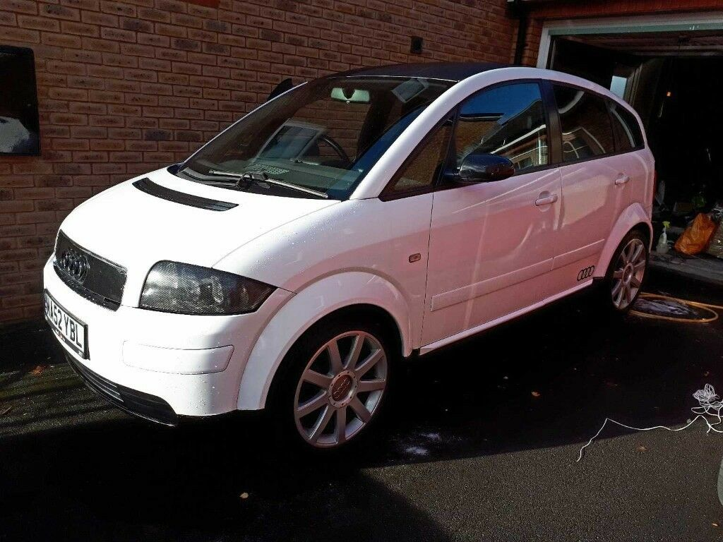 audi a2 1 4 sport petrol 2002 in penzance cornwall gumtree. Black Bedroom Furniture Sets. Home Design Ideas