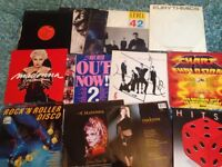 Vinyl records madonna sister sledge level 42 spa day ballet abc