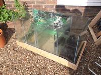 Large fish tank sump / Aquarium filter / tropical , marine