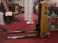 Manual Electric Forklift Pumptruck Pump truck Pallet