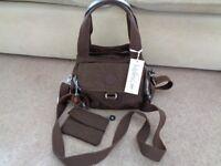 Brand New Brown Kipling Bag