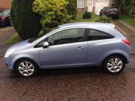 Vauxhall Corsa 1.4 Design 16v Blue 12 Month MOT