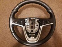 Vauxhall Astra J MK6 steering wheel