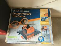Vitrex Electric Tile Cutter, Water cooled blade, Table Stand