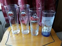 16 BEER AND CIDER GLASSES