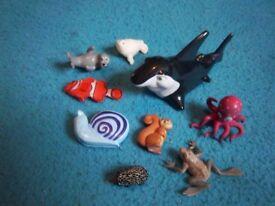 Bundle of Toy Animals - Sea & Woodland IP1